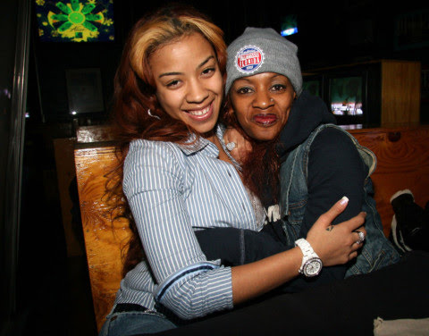 Keyshia Cole's mother, Frankie Lons, died on Sunday while celebrating her 61st birthday (Picture: Johnny Nunez/WireImage)